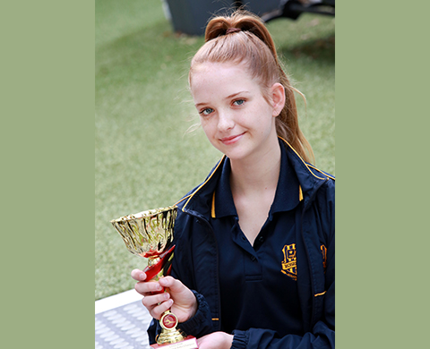 Congratulations to Lara Crown of Year 9